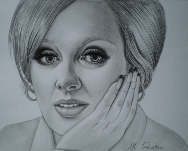 Adele por Ana-Maria